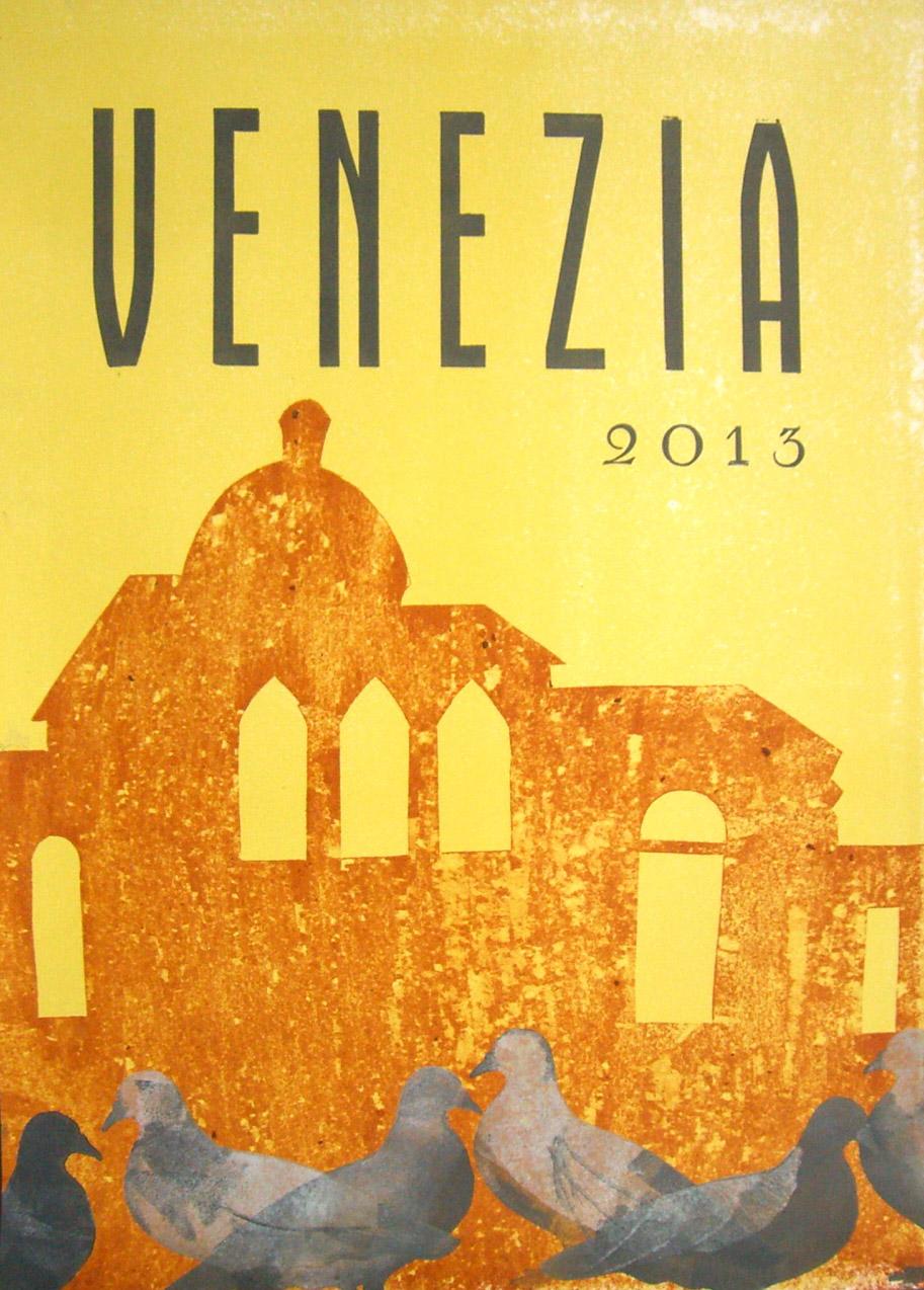 Book Arts in Venice, Collaborative Letterpress Poster