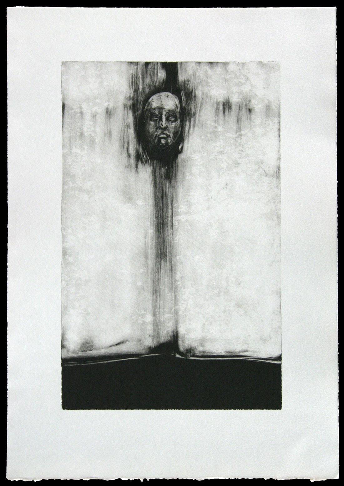 "James Deeb, ""Faithless (no.2)"" monotype, 2009"