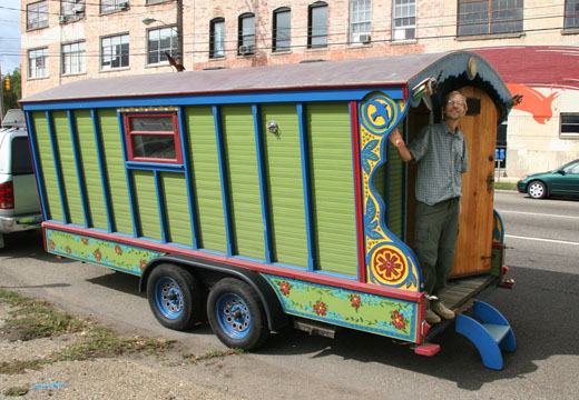 Peter & Donna Thomas' Gypsy Wagon