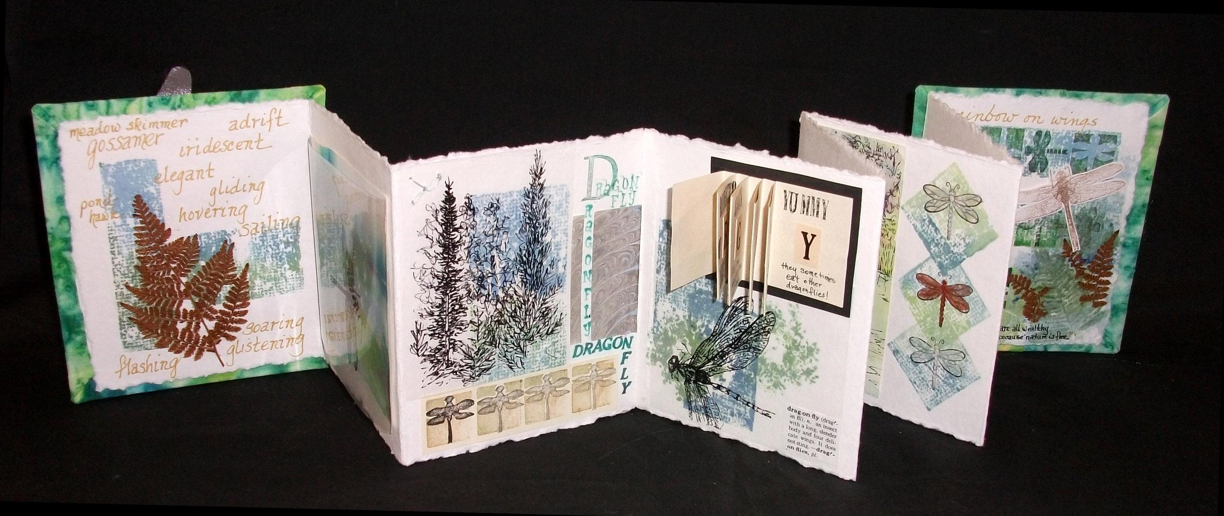 Dragonfly, Marty Schneider, Mixed Medium, New York, 2006