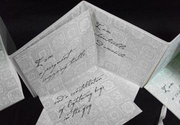 Rebecca Goodale, Lullaby, Letterpress printed, 2008