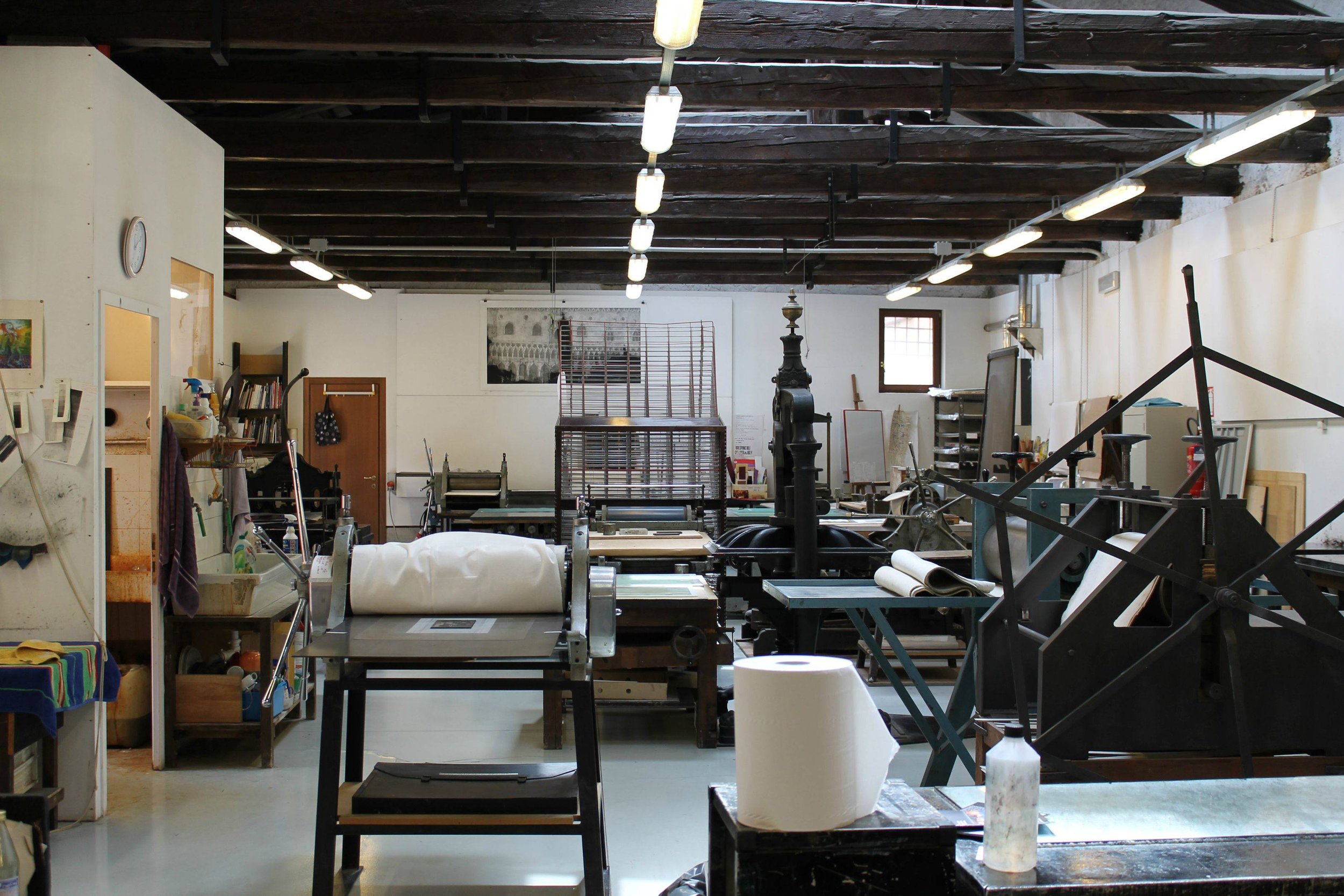 Print Studio of the Scoula di Grafica