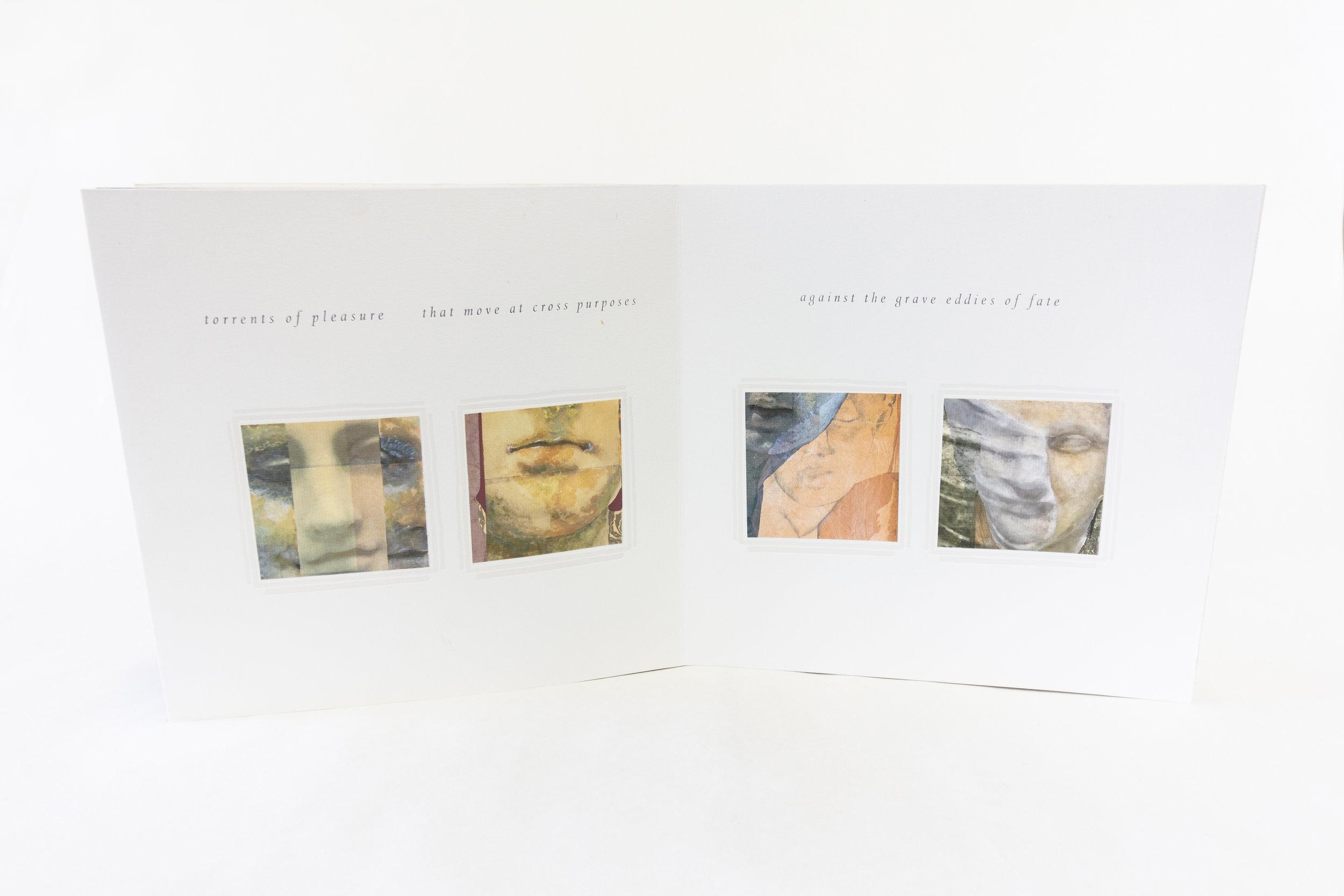 "Mary Heebner, ""Cassandra,"" Fine art book with original collage embellishments, 2019, $4,000, Santa Barbara, CA"