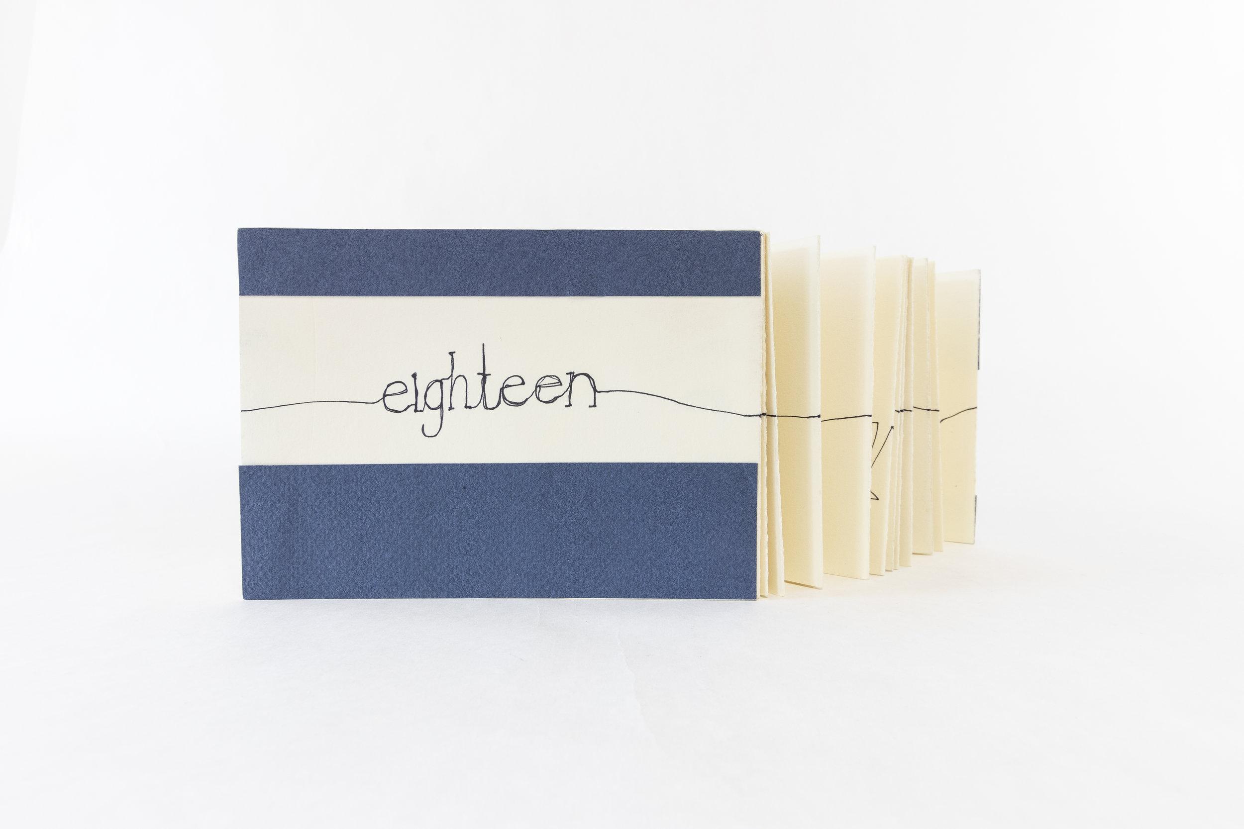 "VM Leon,""Eighteen,"" Pen, 2013, $800, Dulles, VA"
