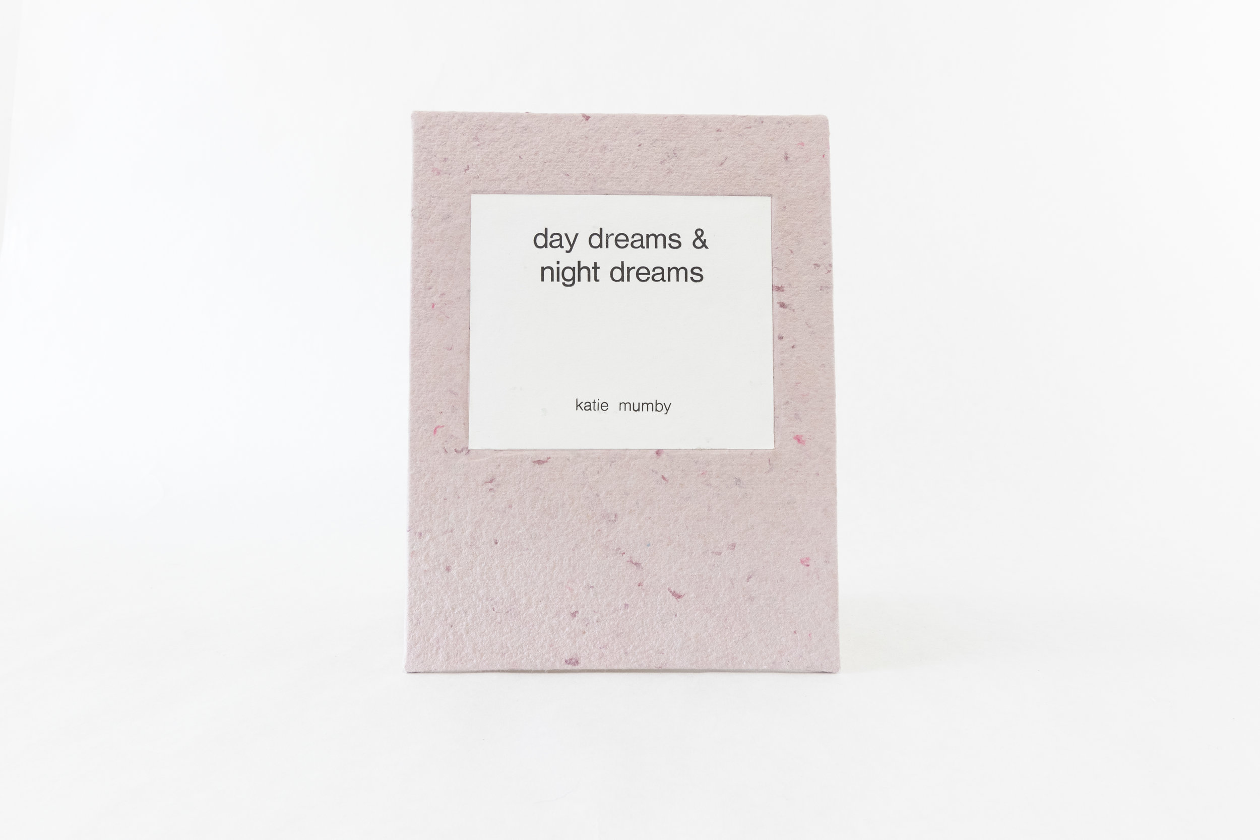 "Katie Mumby, ""day dreams and night dreams,"" Handmade paper, ink, colored pencil, 2019, Holt, MI"