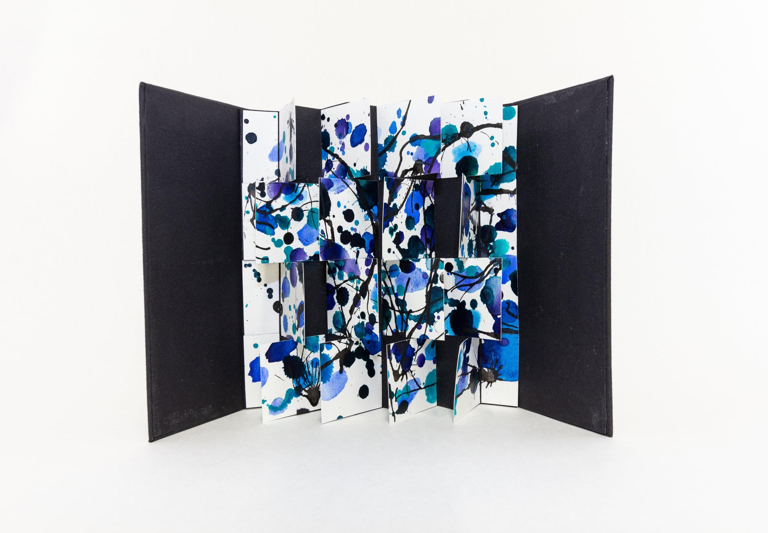 """Cori Austin, """"Warm/Cool,"""" Paper, 2019, $200, Houston, TX"""