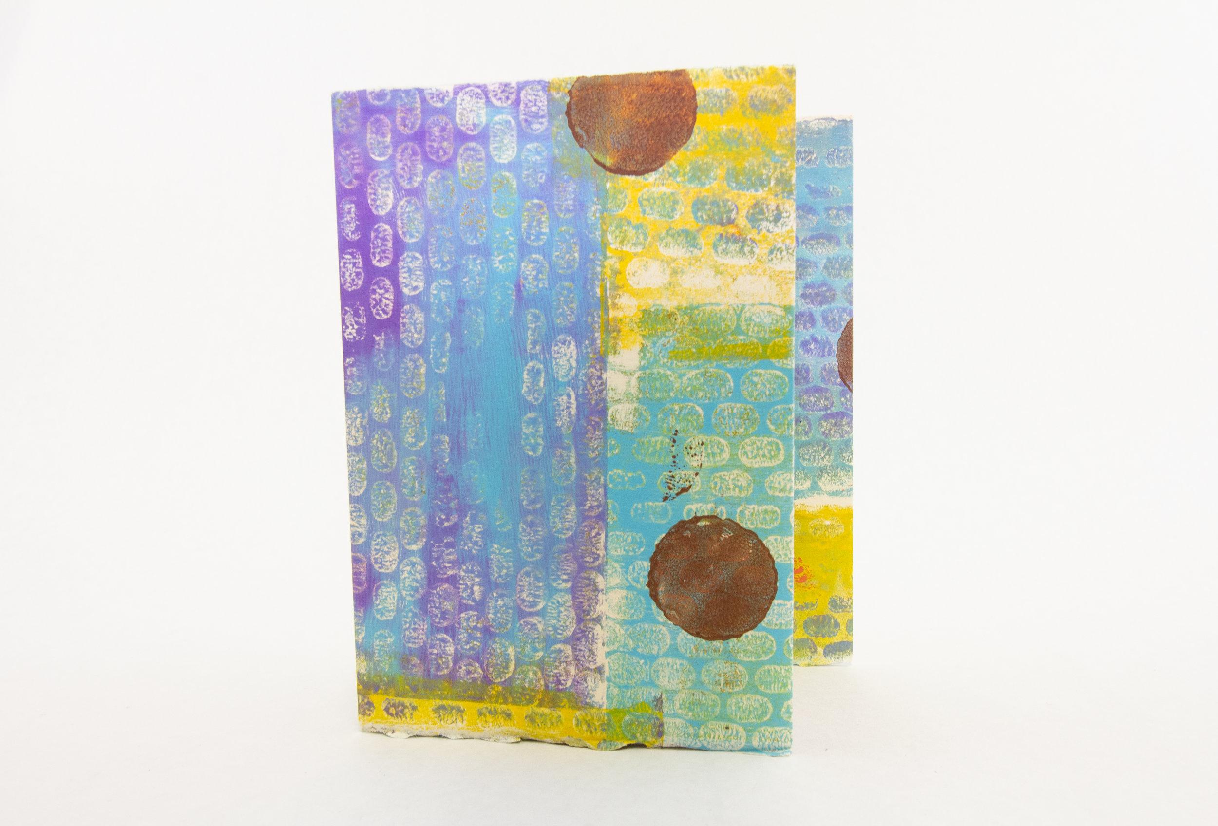"Lorrie Grainger Abdo,""Riot of Spring,"" Gelatin prints, 2018,Kalamazoo, MI"