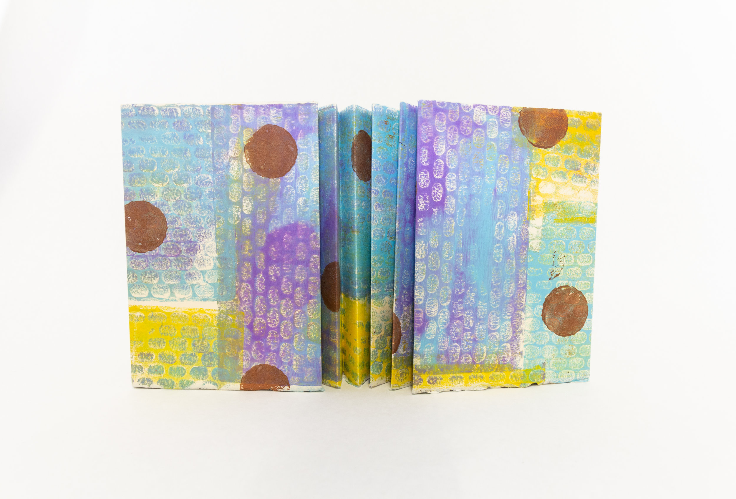 "Lorrie Grainger Abdo, ""Riot of Spring,"" Gelatin prints, 2018, Kalamazoo, MI"