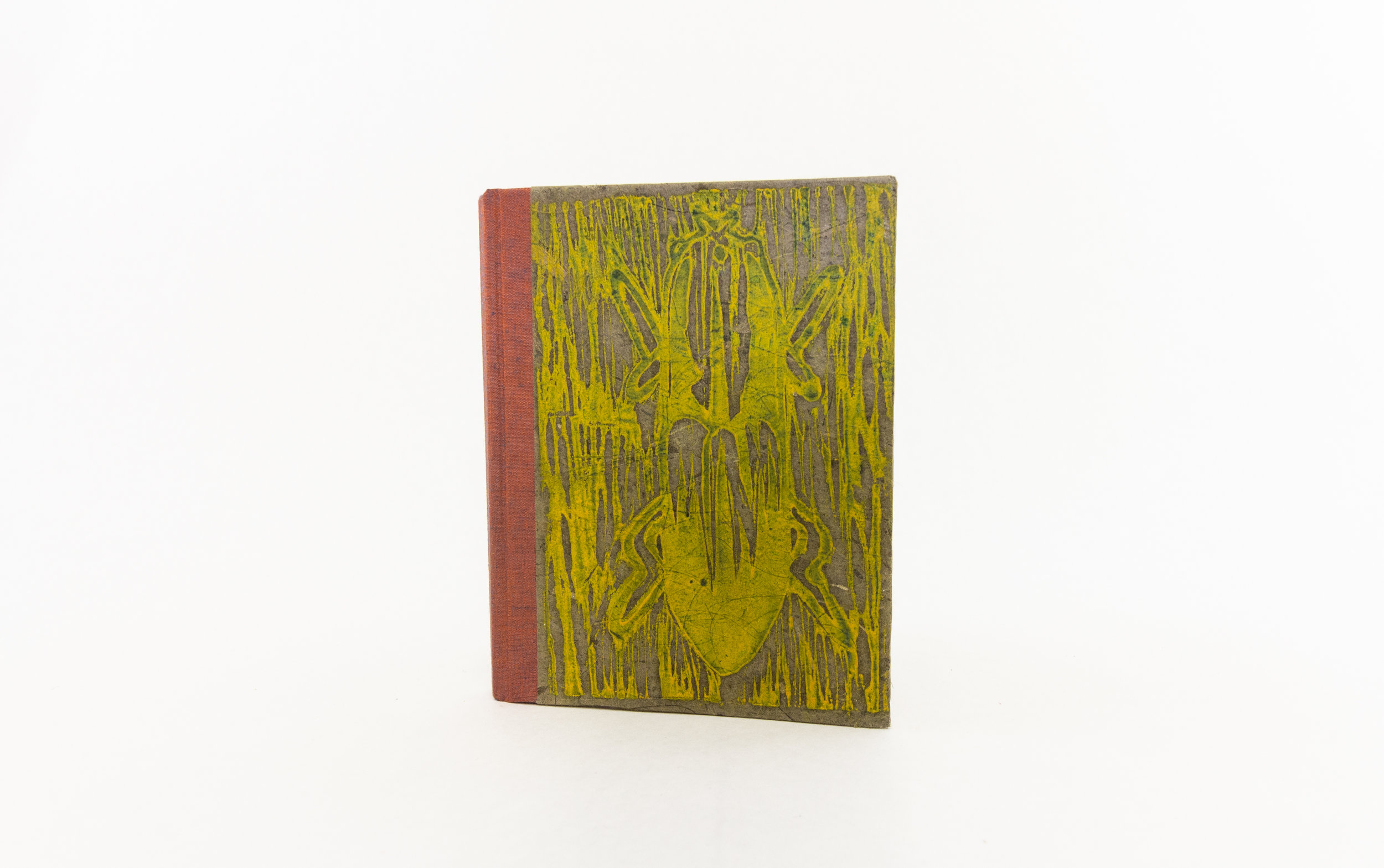 """Shelby Ping,""""This Magnified World,"""" Relief and Letterpress, Woodcut, 2019, $50 Mishawaka, IN"""
