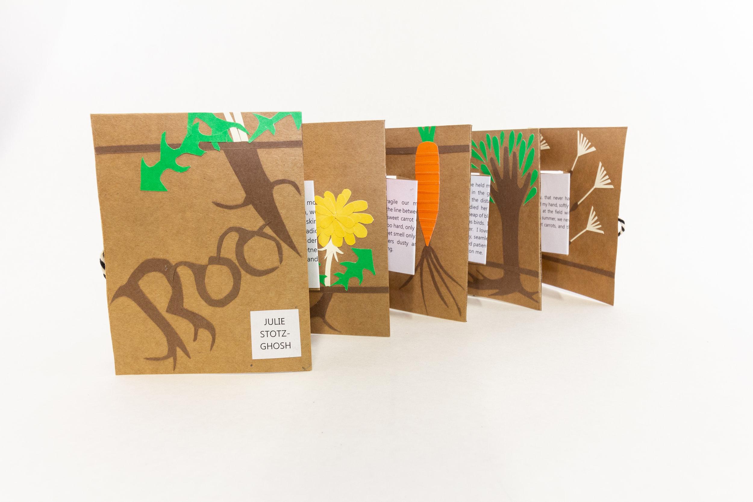 "Julie Stotz-Ghosh, ""Root,"" Paper, 2019, NFS, Portage, MI"