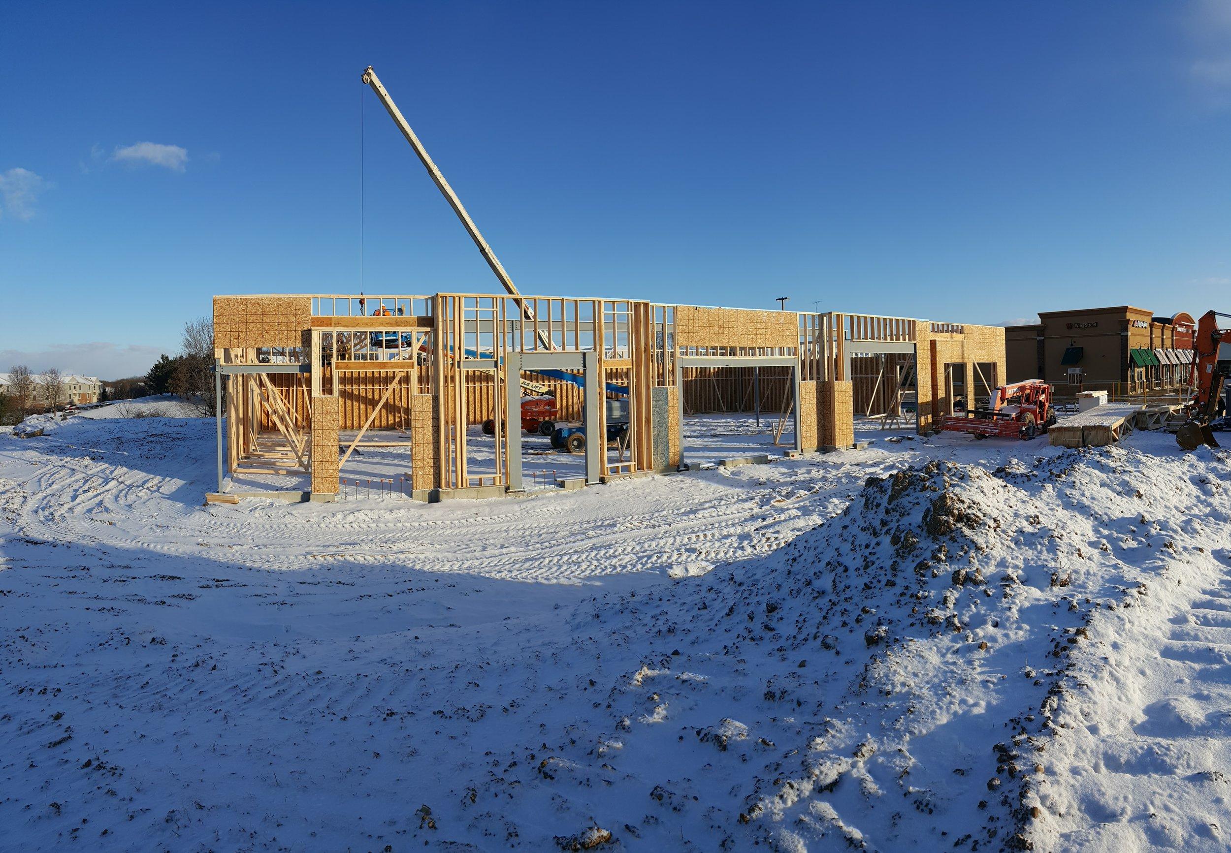 February 2017 Construction Progress
