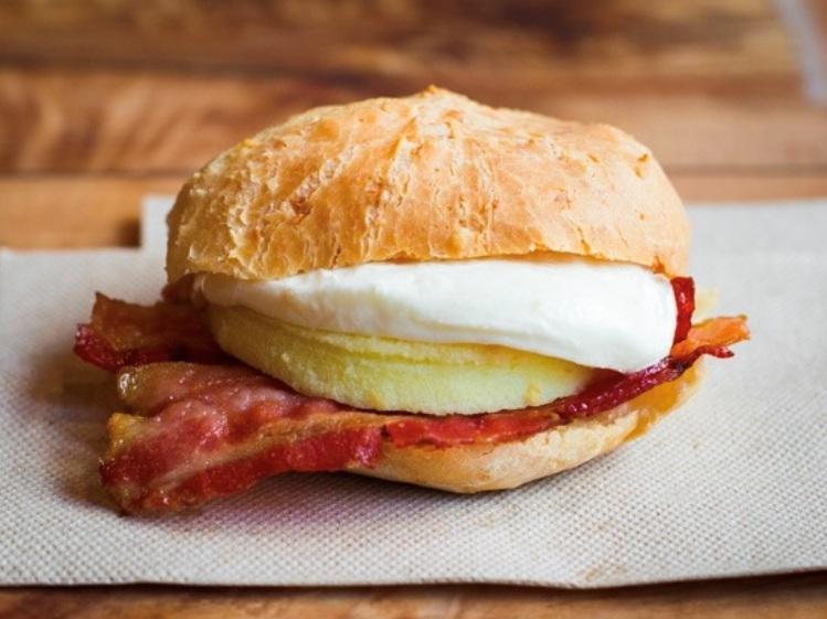 Bacon Egg & Fresh Mozzarella