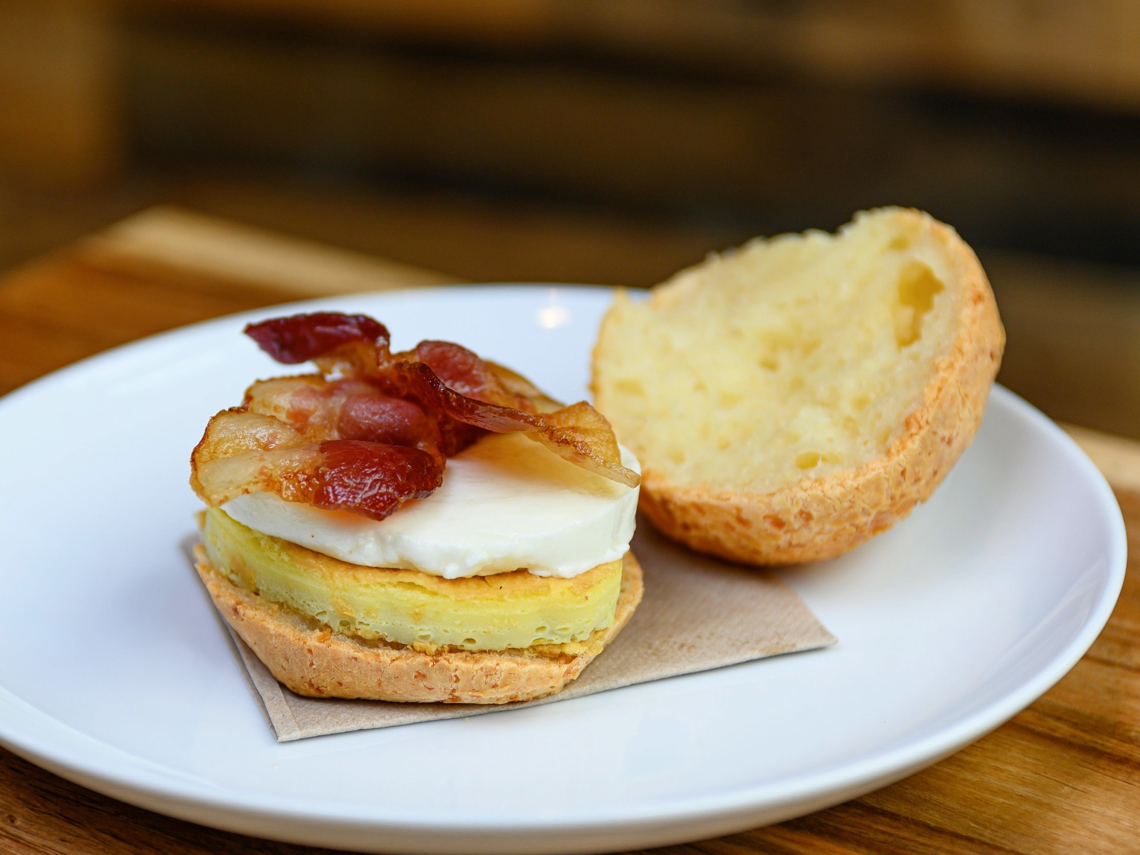 Bacon Egg & Mozzarella