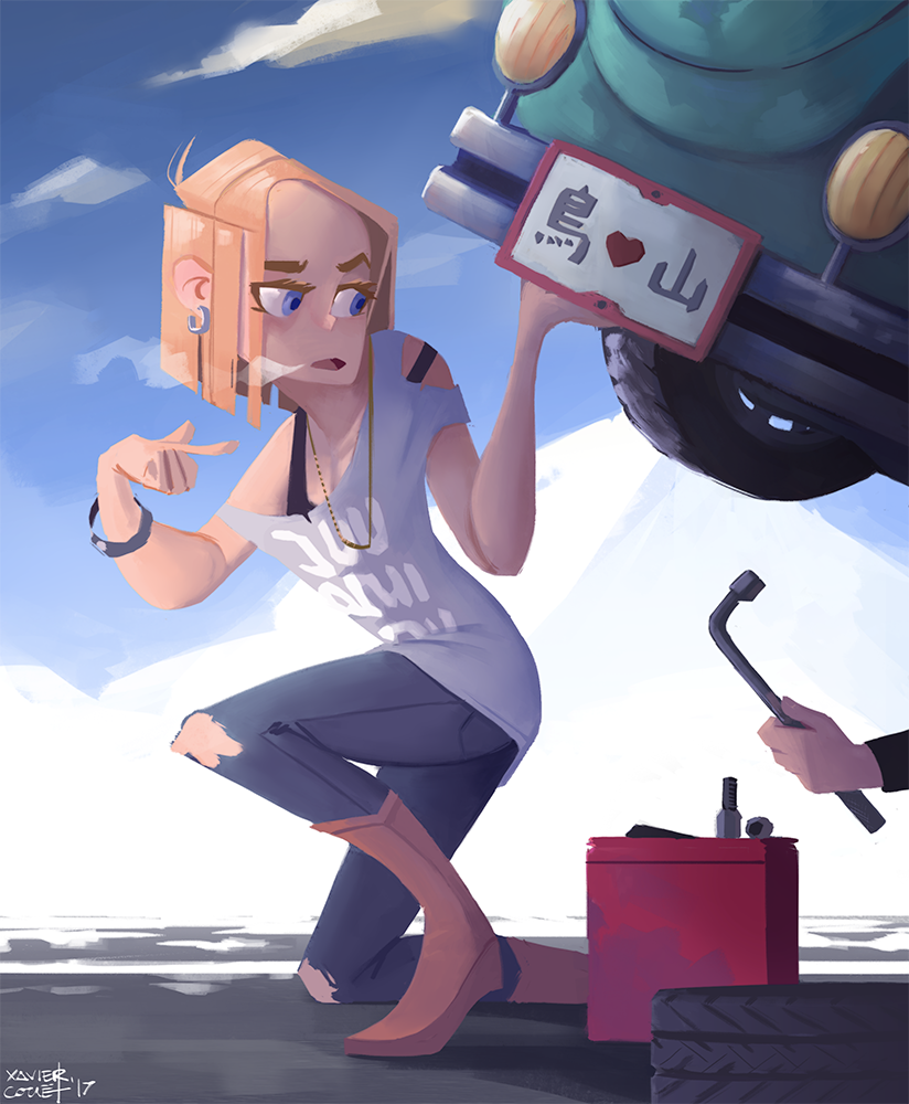 Android 18 / C-18   12/2017