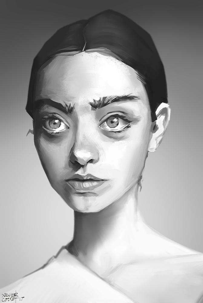 Portrait Study / Étude de portrait   10/2017