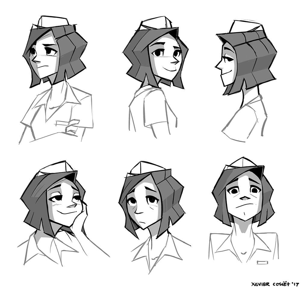 Rosie (expressions)   09/2017