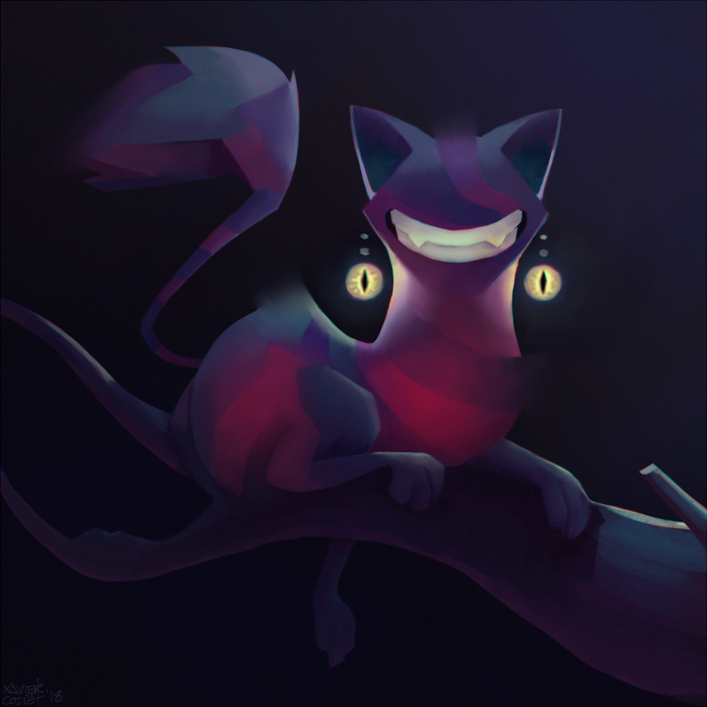 Cheshire Cat / Chat du Cheshire   02/2018