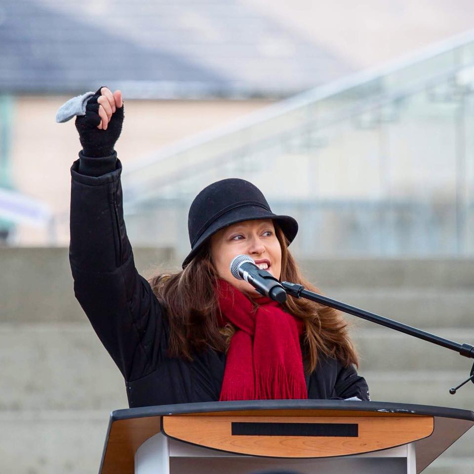 Dawn T Maracle - Speaker at the 2018 Toronto Women's March