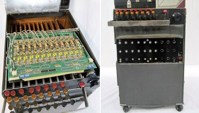"""This is the """"Laff Box"""" created by Charlie Douglas - a major design inspiration at this """"found object""""."""