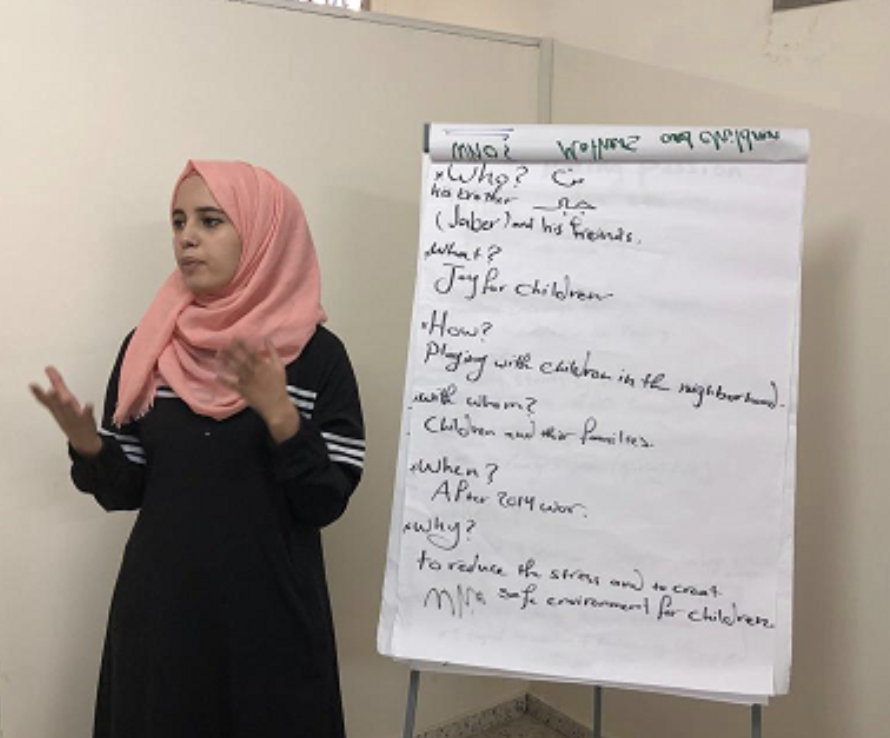 Discovering Positive Champion behaviours and drafting community scorecards at the new Al Fakhoora house