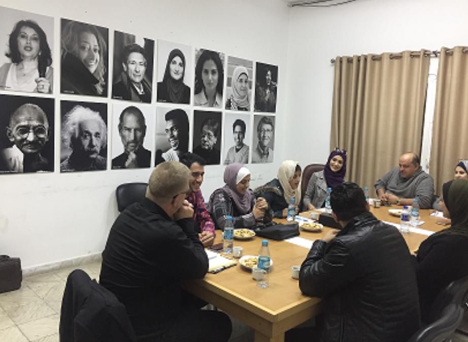 Innovation workshop with Al Fakhoora students