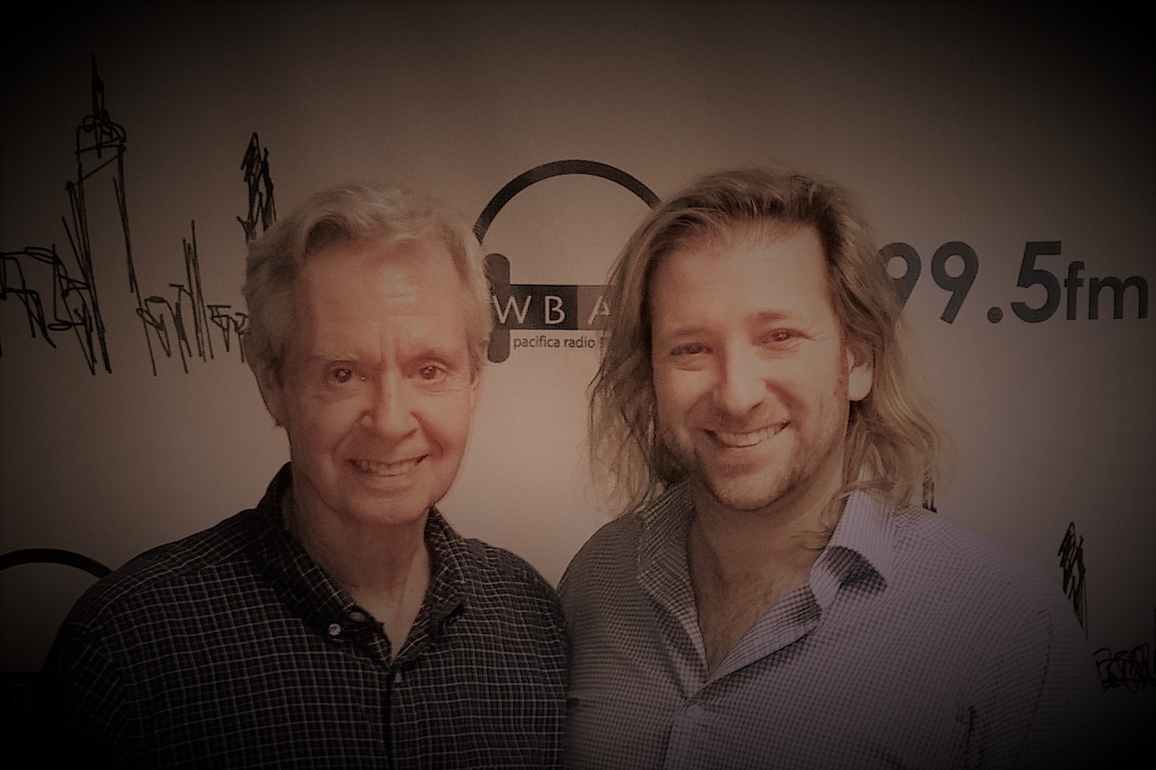 Randy Skinner & Joshua Sherman at WBAI