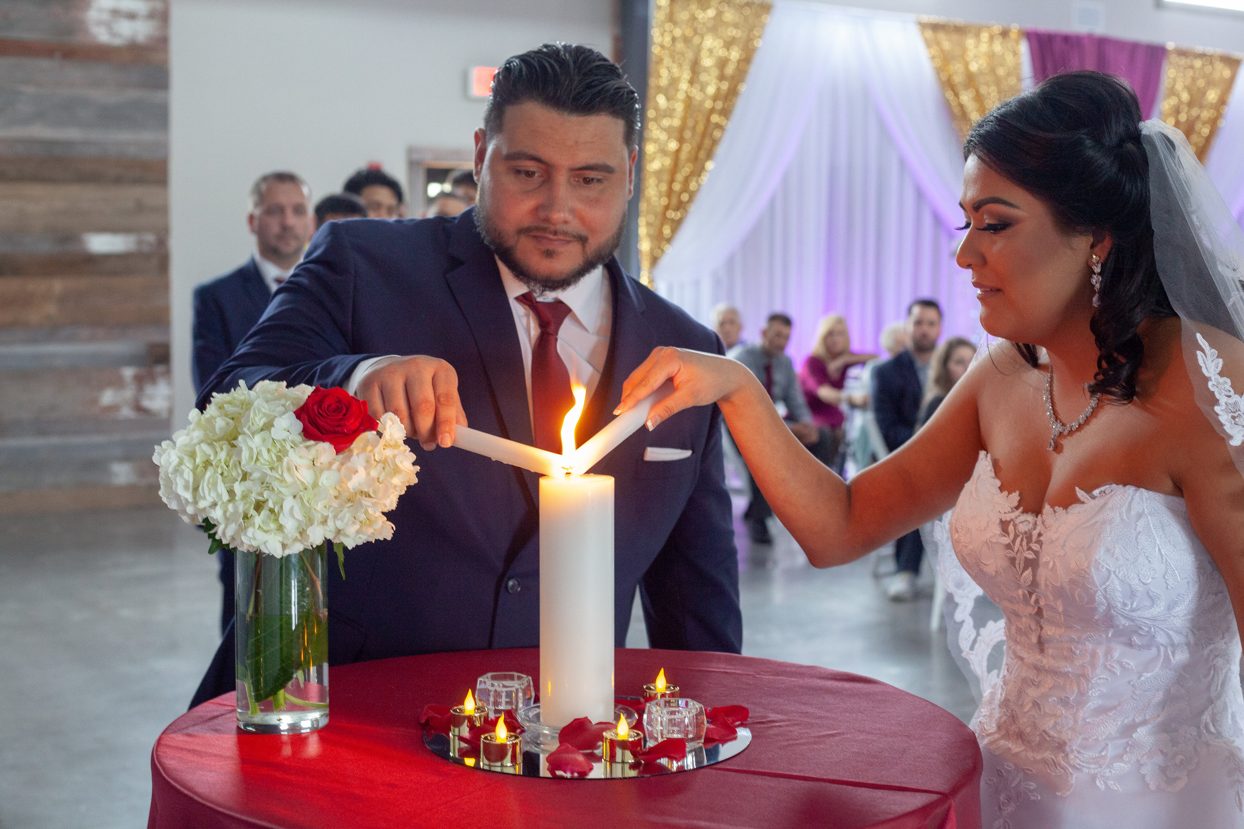 lighting of the candle samoan wedding mexican culture wedding .jpg