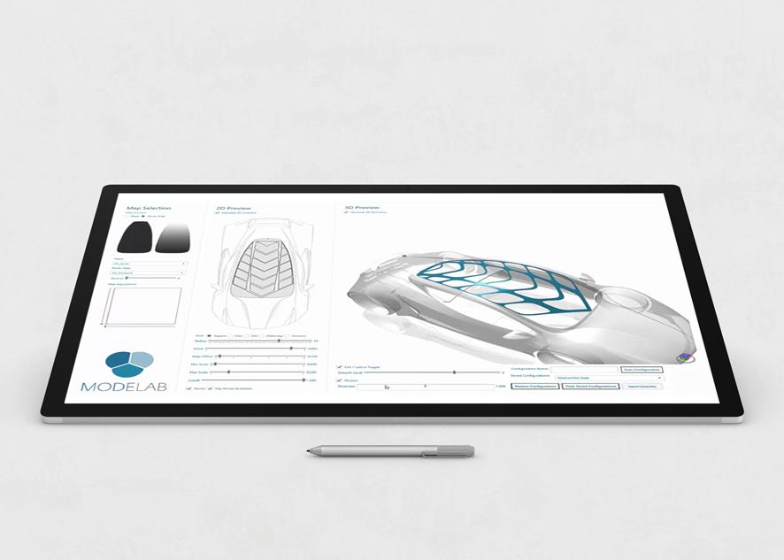A generative automotive design experience and digital prototype