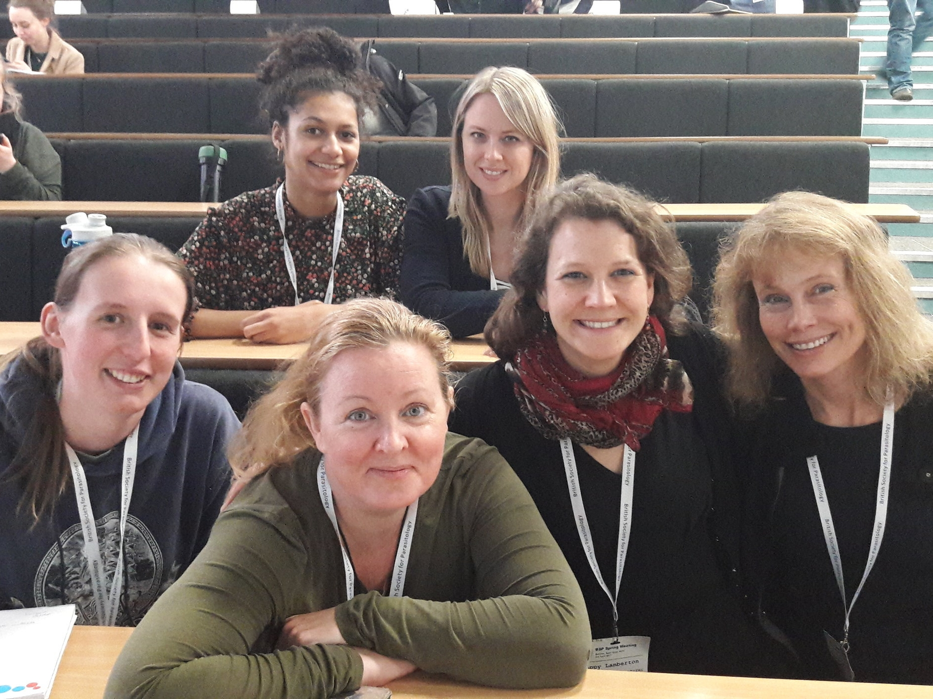 BSP meeting - In April 2018 the Lamberton Lab (and former PhD supervisor Prof Joanne Webster) headed off to Aberystwyth for the annual British Society for Parasitology meeting. Our three oral presentations and two poster presentations were a great success, along with many other highlights of the meeting.