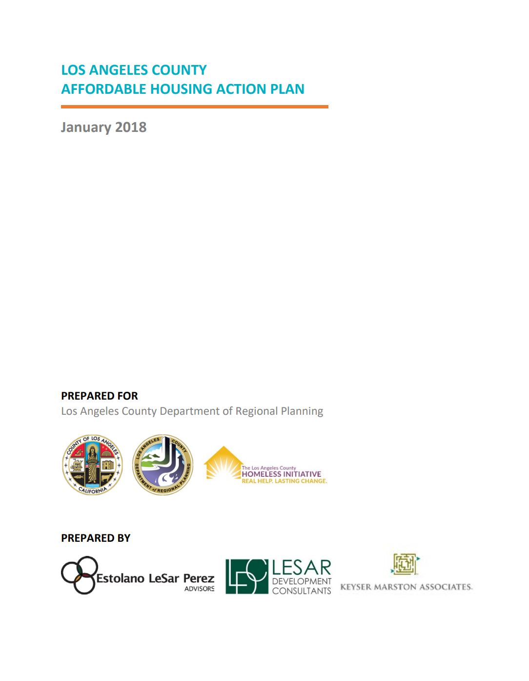 LA County#Affordable Housing Action Plan