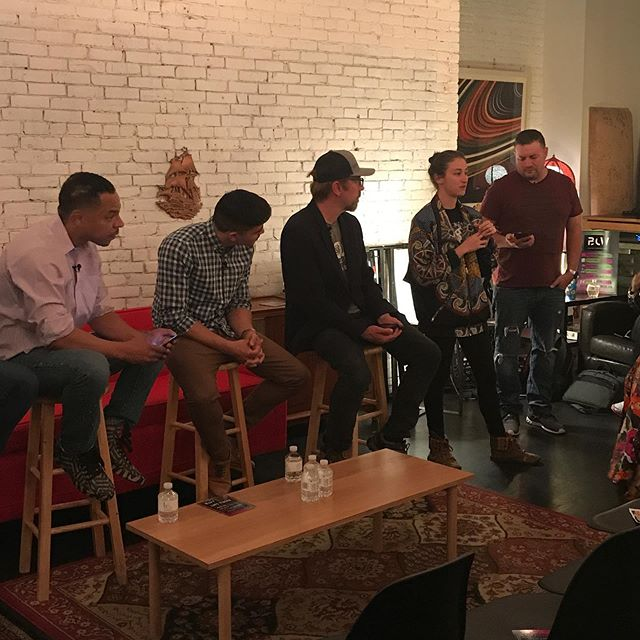 Boston Cannabis Week Day 2 is in the books, thank you to everyone who attended #Mediascape and thank you to our partner @killerboombox and @therecordcotrc for providing a home for conversation. #BostonCannabisWeek