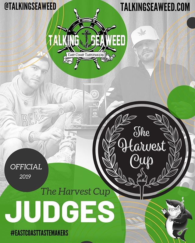I don't think we ever mentioned that we will be official judges at this years @the_harvest_cup and we will actually be putting the entries on display at our FREE Halloween party on 10/26 for you all to see and possibly even test with us. 💨 🦈
