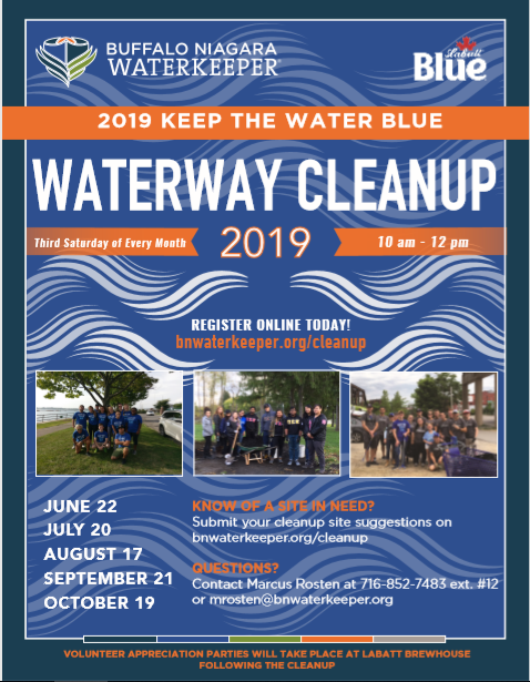 flyer courtesy of Buffalo Niagara Waterkeeper