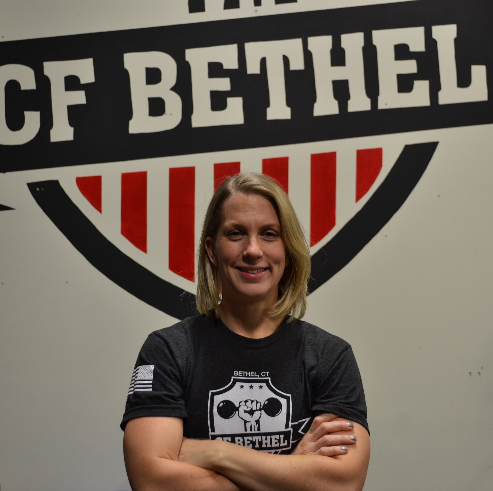 Nicole   Coach since 2017  Credentials: CFL1, CrossFit Gymnastics, CPR & First Aid, & BFA Illustration  NICOLE ENJOYS...  Watching everyone learn new skills (especially the masters athletes) and cheering everyone on!  Outside of work, I enjoy: Working out early in the morning, being a mom, reading, cooking, & painting/drawing/printmaking.  SHE IS YOUR GO-TO FOR:  Personal Training  Encouragement!!  Gymnastics skills  Opening CFB really early in the morning