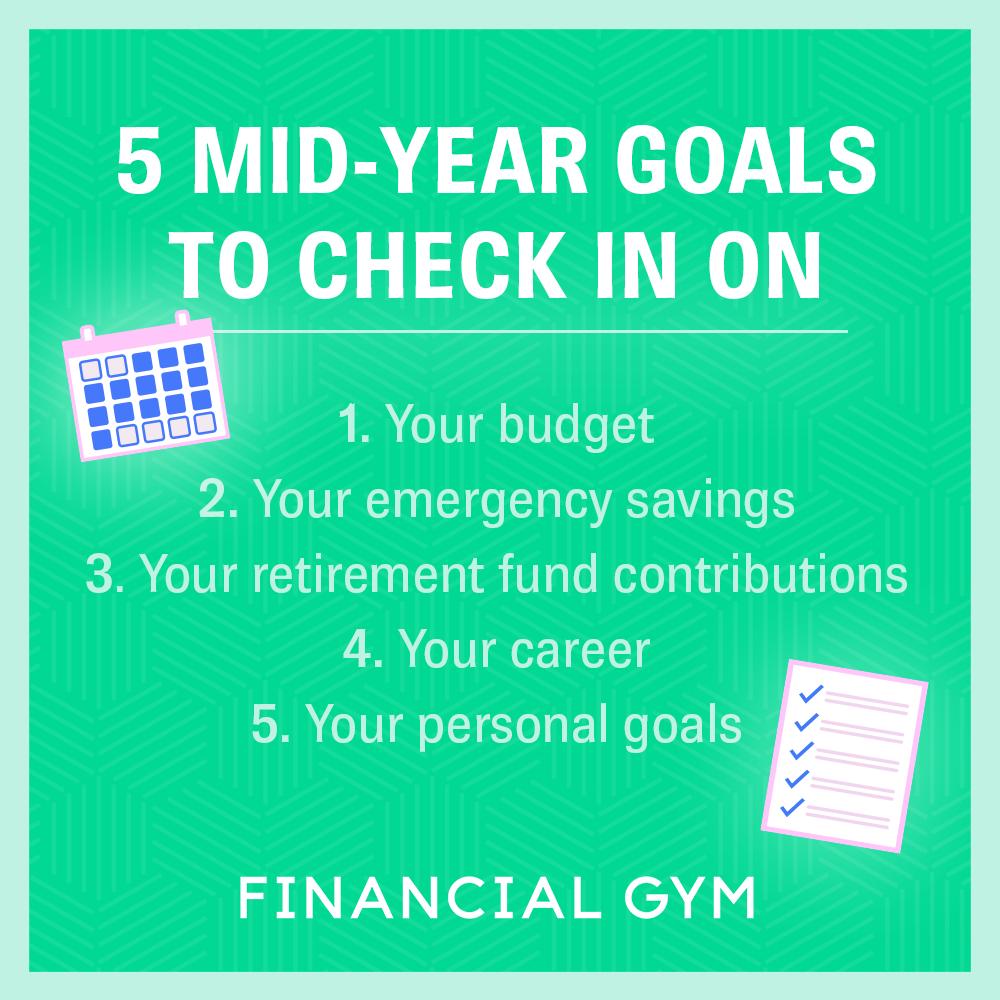 5 mid-year goals