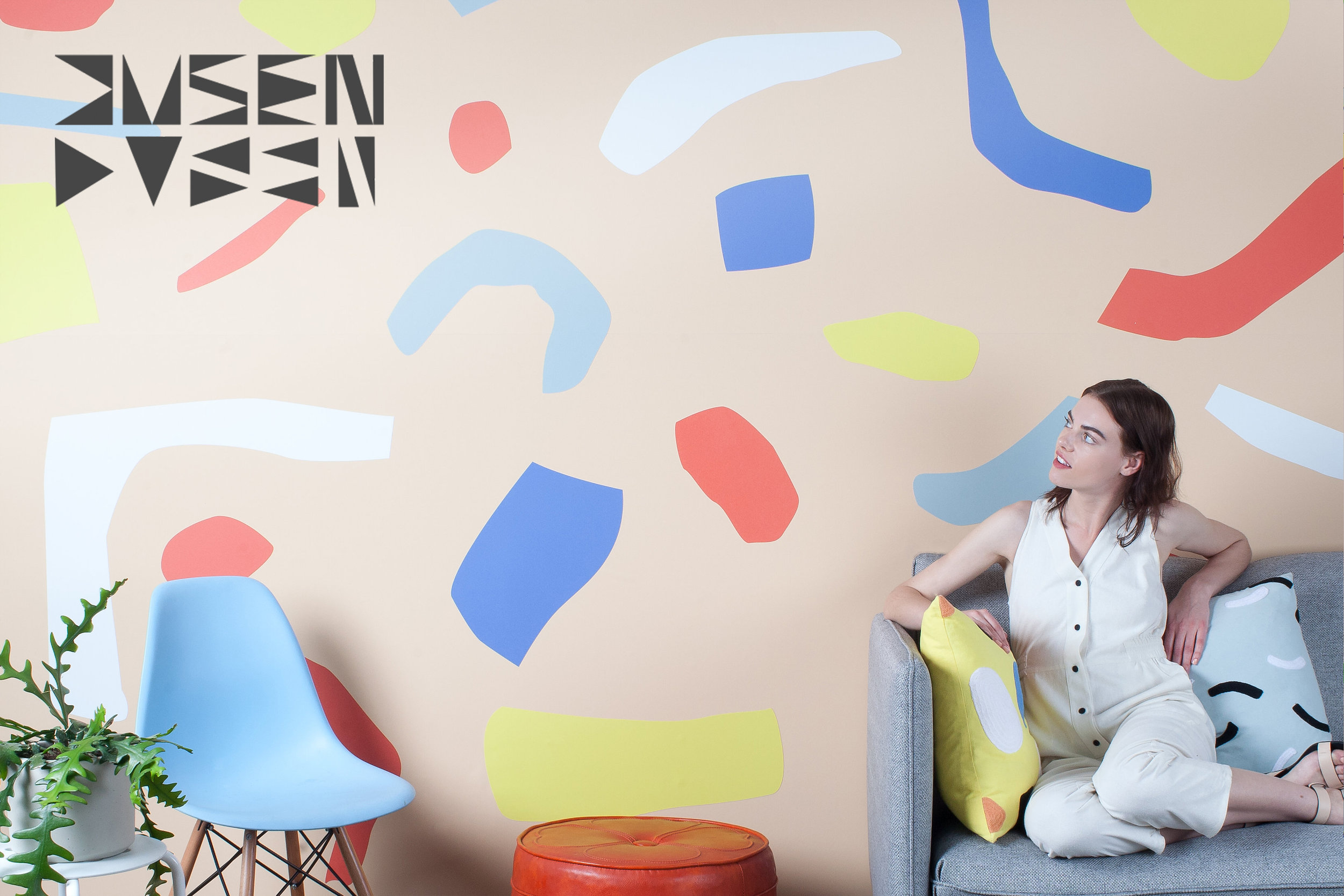 dusen dusen - Designer: Dusen DusenVIEW COLLECTIONA line of bold and playful magnetic wall coverings with ability to rearrange the shapes and patterns.