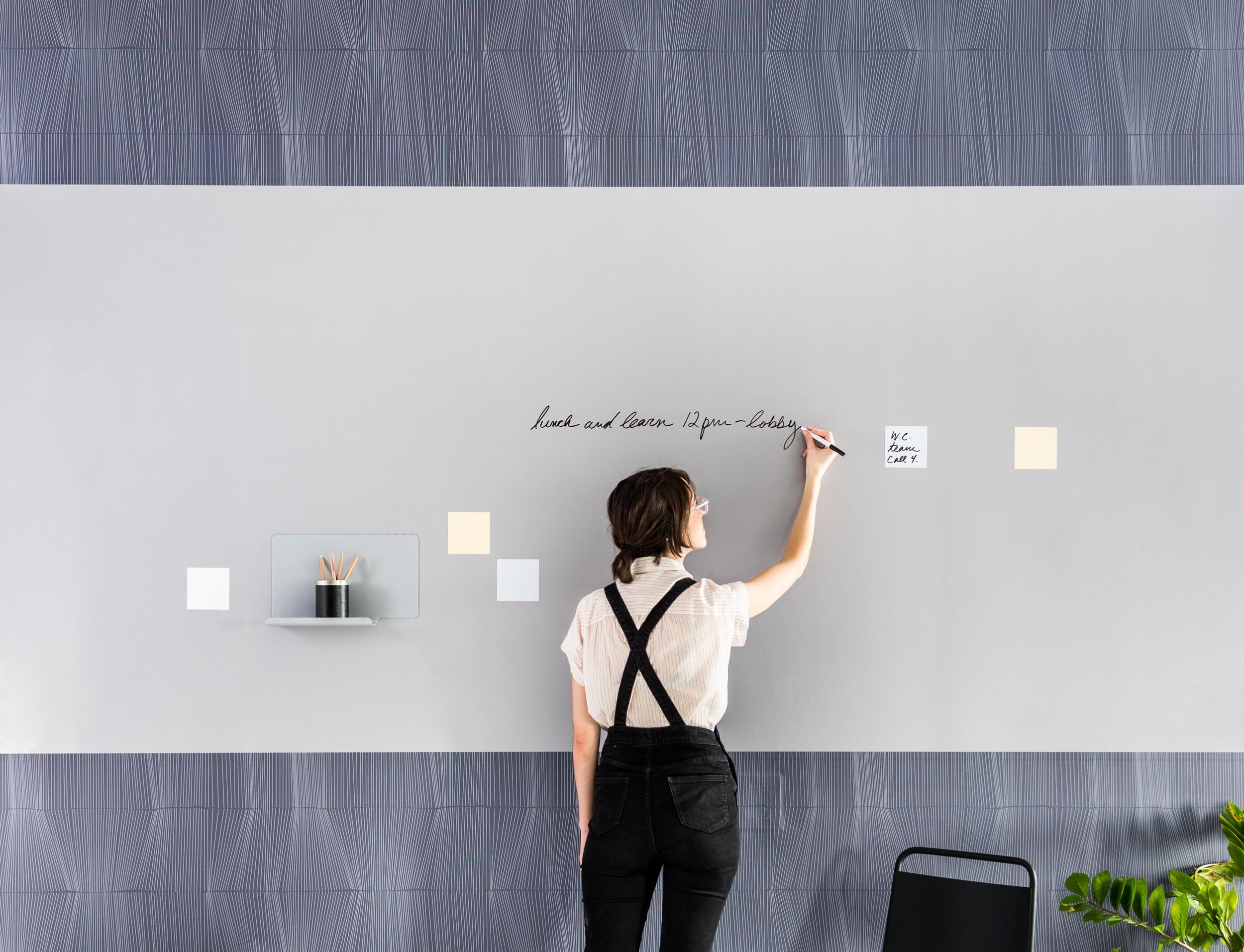 forces - Designer: Jill MalekVIEW COLLECTIONDry erase + textile integration.