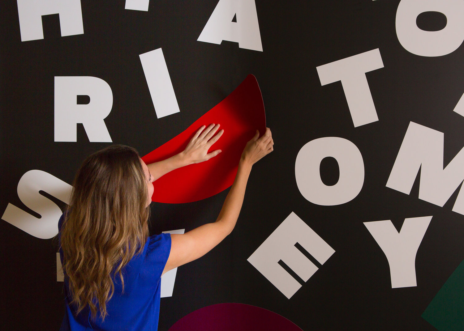 custom Interactive murals - We can help you create a custom interactive mural for your next event, or environmental activation.