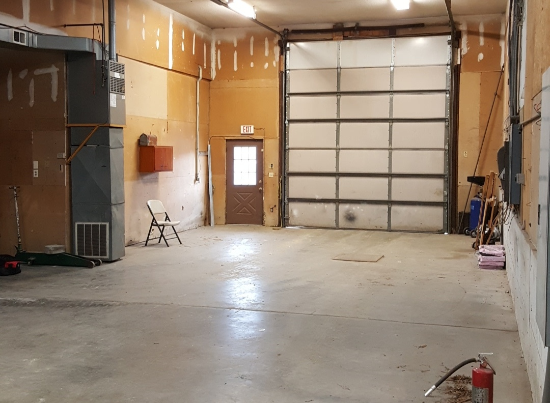 OUR 60FT LONG 18FT TALL SERVICE BAY