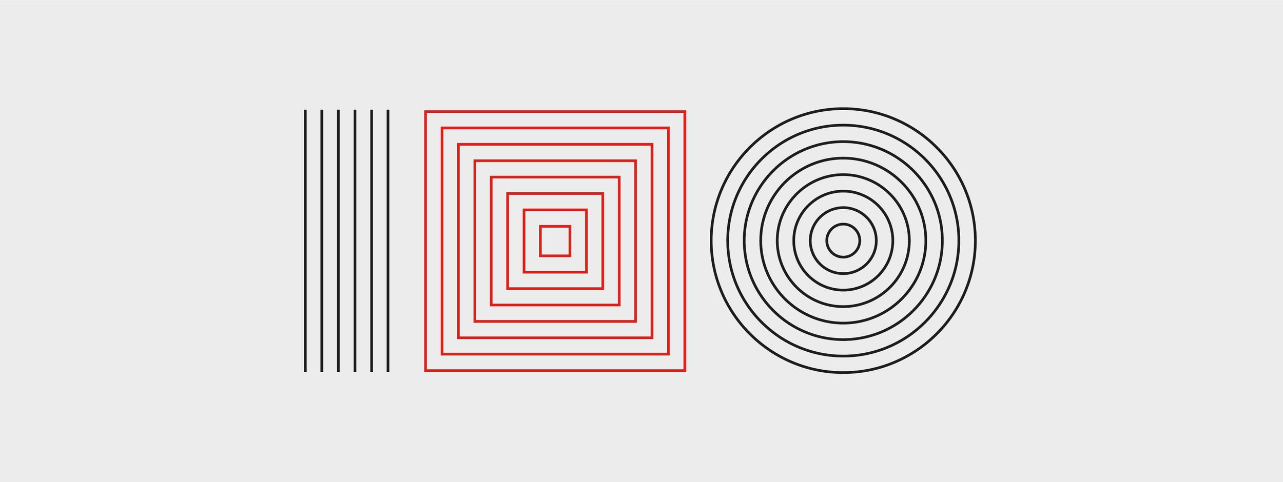 Logo represents 26 members of University of Ljubljana. Lines (22) + shapes (3) + the whole logo (1) = 26.