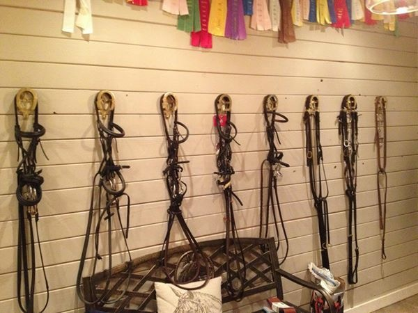 Bridle wall in the tack room.jpg