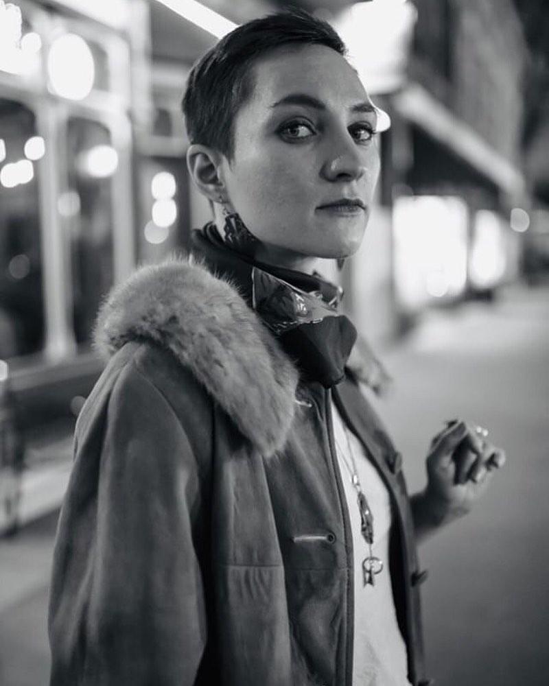 Photo of The Artist Emily W. Fletcher.