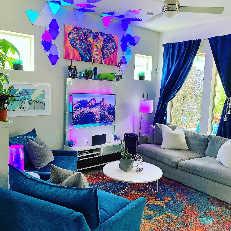 Colorful Denver Modern Residential Interior Design Firm
