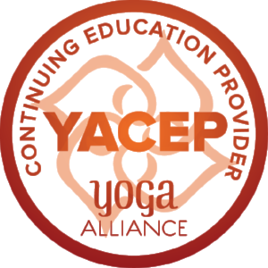 Official Continuing Education Provider with Yoga Alliance