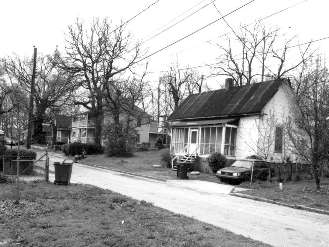 Late 19th century houses on Kenyon St.