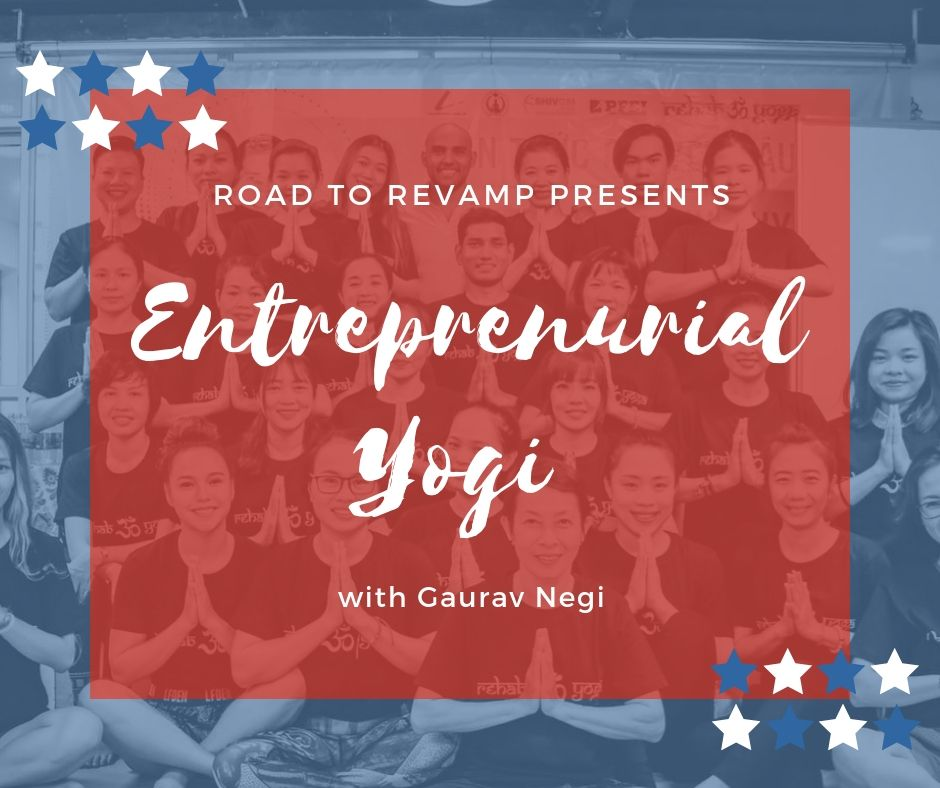 ENTREPRENEURIAL YOGI  WITH GAURAV NEGI   He is the first guest on our podcast who has been interviewed twice and their is the reason behind that.  He single handedly have created a world wide fitness brand named Rehab yoga, shattering all the inhibitions and doubts raised on his idea of going for this.  Gaurav negi talked about the Genesis of this venture with us in last podcast almost 18 months back and now he has already traveled half of the world with his baby Rehab yoga.  Let's learn from this yogi how to make a global brand without looking for a shoulder to lean on.
