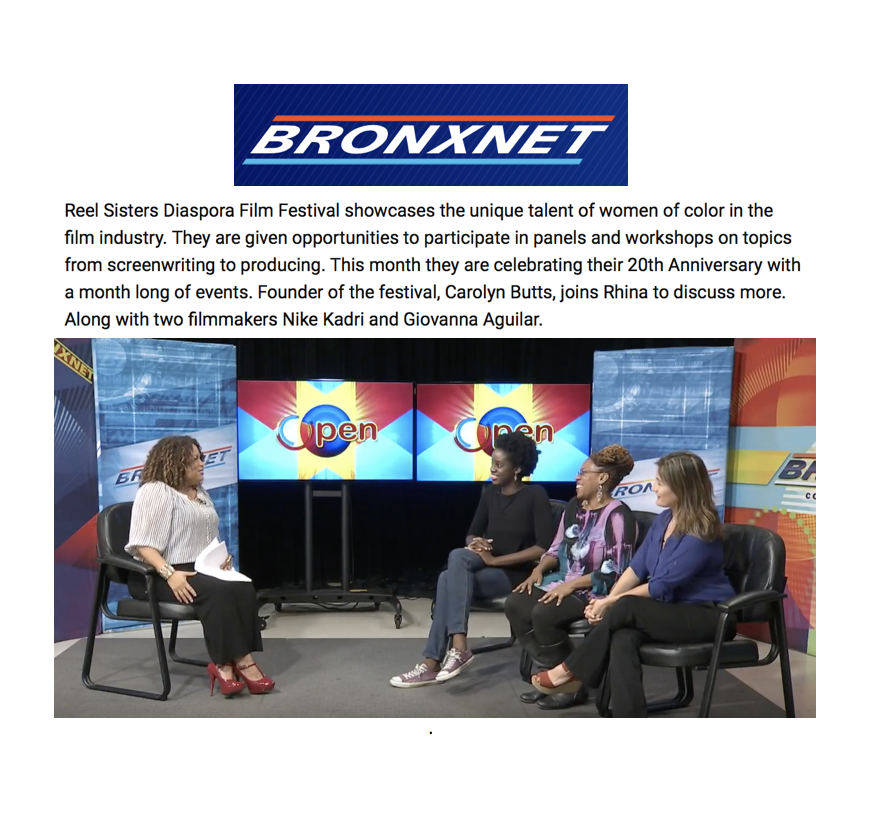 24.Reel Sisters Film Festival on Bronxnet.png