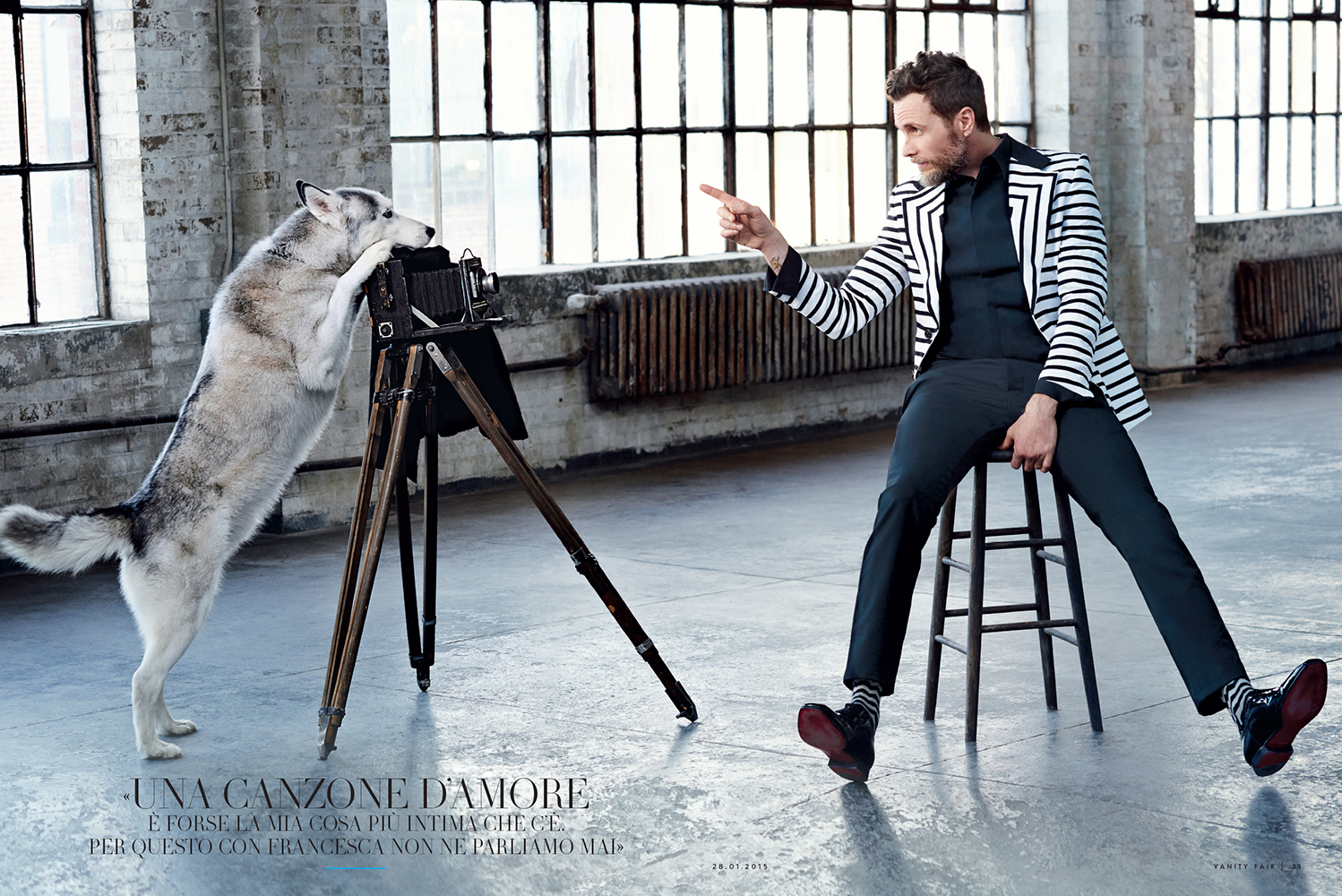 VANITY FAIR ITALIA Jovanotti by Peter Yang