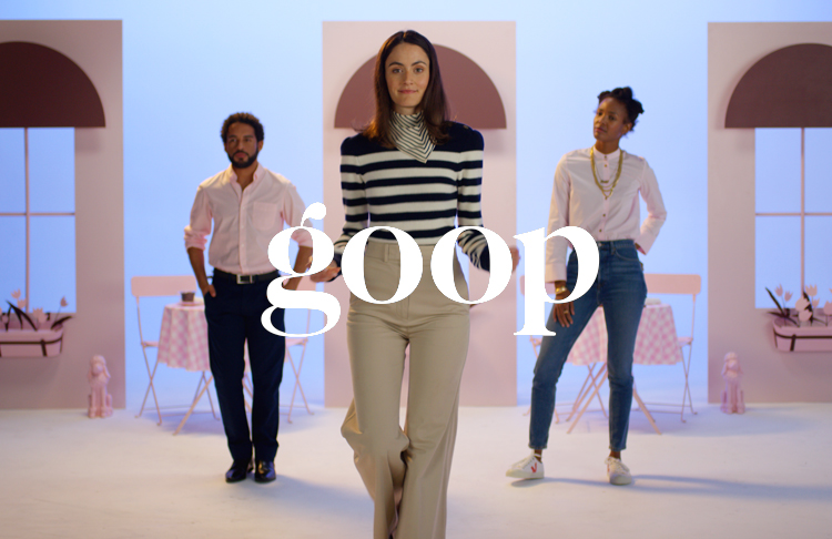 CREATIVE DIRECTION Goop Chews Ad Campaign