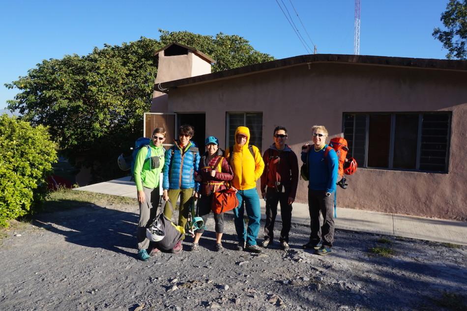The Gang right to left: Lida Frydrychova, Rena Ahmadova, Catalina Sanchez, Mike Samson, Shaun Luong and Josh Lynn.